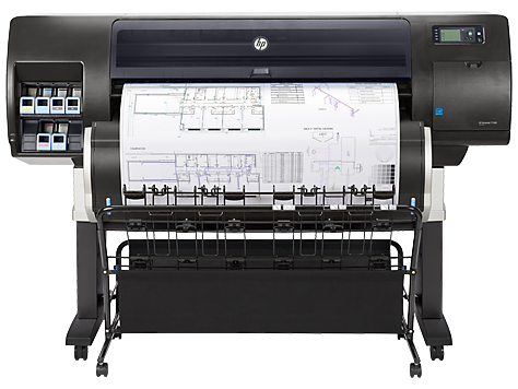 מדפסת HP DesignJet T7200 Production