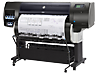 HP DesignJet T7200 42-in Production Printer - Left