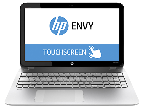 PC Notebook HP ENVY TouchSmart serie 15-q100