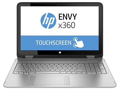 Gamme d'ordinateurs convertibles HP ENVY 15-u200 x360
