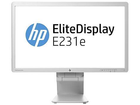 HP EliteDisplay E231e 23-in IPS LED Backlit Monitor