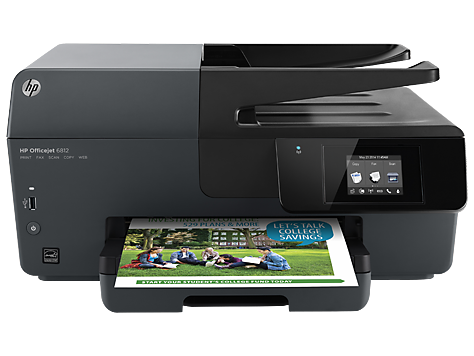 HP Officejet 6820 e-All-in-One 印表機系列