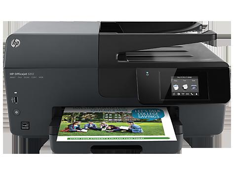 HP Officejet 6812 e-All-in-One Printer