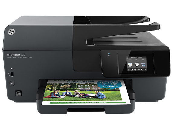 HP Officejet 6812 e-All-in-One Printer