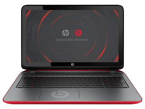 Notebook HP Beats Special Edition 15-p000
