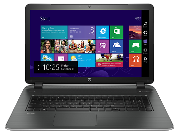 HP Pavilion 17t-f000 CTO Notebook PC (ENERGY STAR)