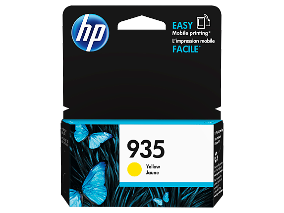 HP 935 Yellow Original Ink Cartridge - Center