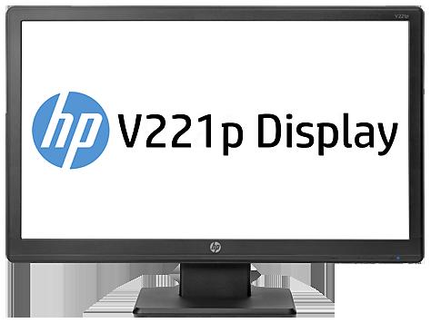 Monitor HP V221p de 21,5pulgadas con retroiluminación LED