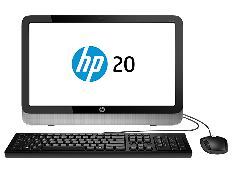 PC Desktop HP All-in-One série 20-2100