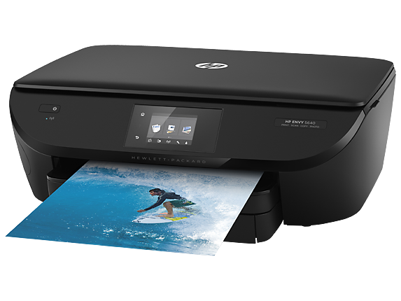 HP ENVY 5640 e-All-in-One Printer - Left