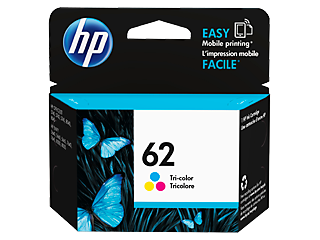 HP 62XL/62 High Yield Black and Standard Tricolor Ink Cartridge Bundle