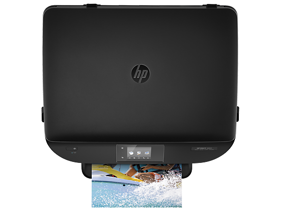 HP ENVY 5660 e-All-in-One Printer - Top view closed