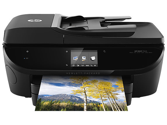 HP ENVY 7645 e-All-in-One Printer - Center