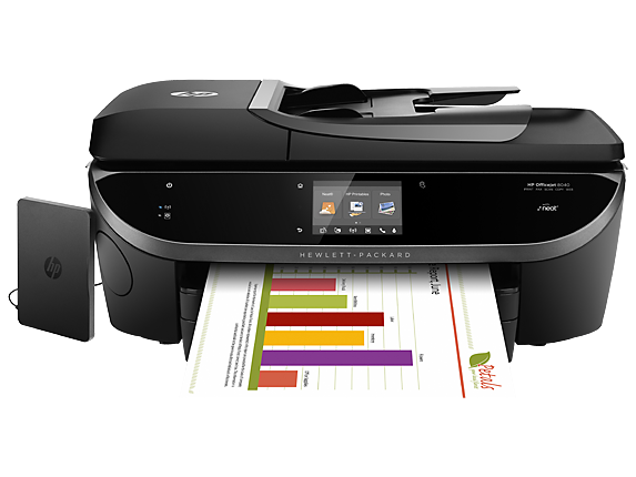 image about Hewlett Packard Printable Cards known as HP Officejet 8040 All-inside-Just one Printer HP® Formal Retail store