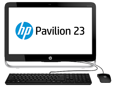 PC Desktop HP Pavilion serie 23-g100 All-in-One