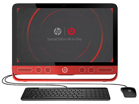 PC Desktop HP Beats Special Edition serie 23-n000 All-in-One