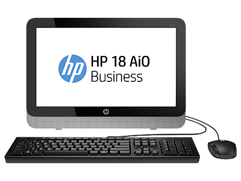 HP 18 All-in-One bedrijfs-pc