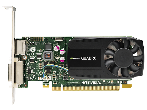 NVIDIA Quadro K620 2GB Graphics Card - Center
