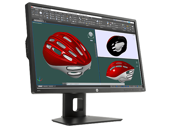 HP Z27s 27-inch IPS UHD Display - Right