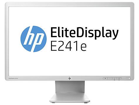 HP EliteDisplay E241e 24 英寸 IPS LED 背光显示器