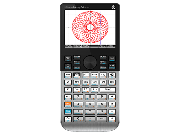 HP Prime Graphing Wireless Calculator - Left