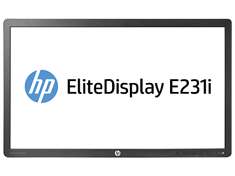 Monitor HP EliteDisplay retroiluminado E231i 23 pol IPS LED, somente monitor
