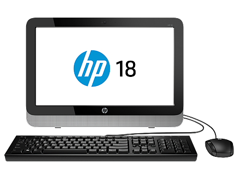 PC desktop All-in-One HP Pavilion 18-5500