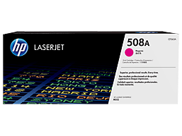 HP 508A Magenta Original LaserJet Toner Cartridge, CF363A