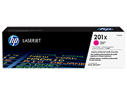 HP 201X High Yield Magenta Original LaserJet Toner Cartridge, CF403X