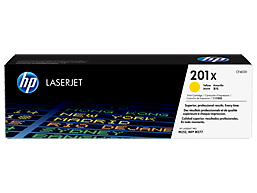 HP 201X High Yield Yellow Original LaserJet Toner Cartridge, CF402X