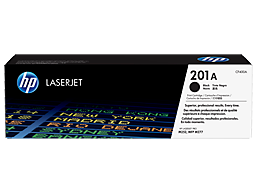 HP 201A Black Original LaserJet Toner Cartridge, CF400A