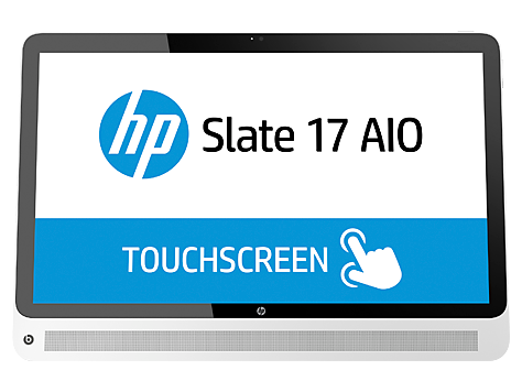 HP Slate 17-l000 All-in-One Stasjonær PC-serien