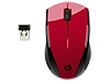 HP X3000 Red Wireless Mouse
