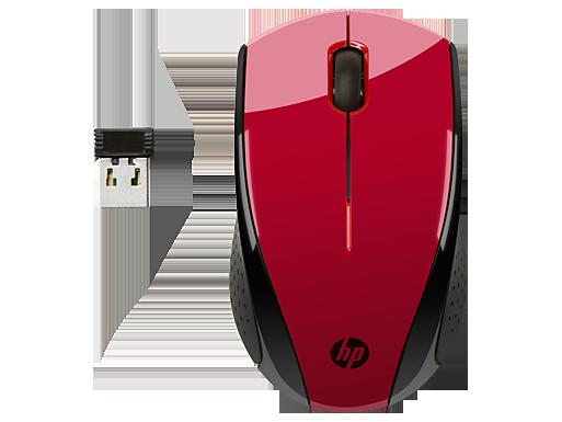HP X3000 Wireless-Maus (Sunset Red)