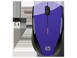 HP X3000 Purple Wireless Mouse