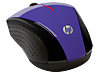 HP X3000 Purple Wireless Mouse - Right