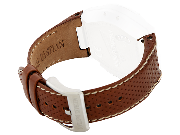 Brown Leather Strap Kit - Right