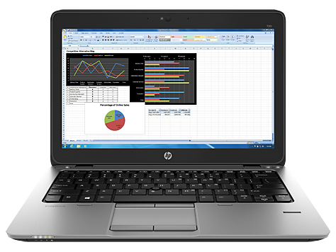 HP Elitebook 720 G2 notebook-pc