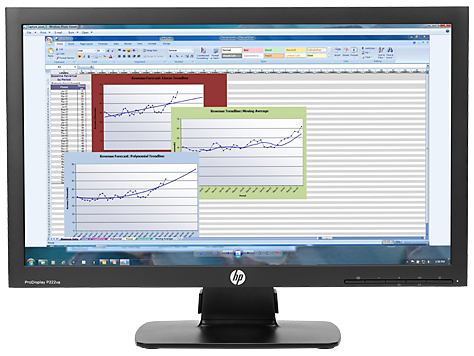 HP ProDisplay P222va 21,5 inch monitor