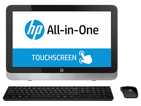 PC Desktop HP serie 22-2100 All-in-One