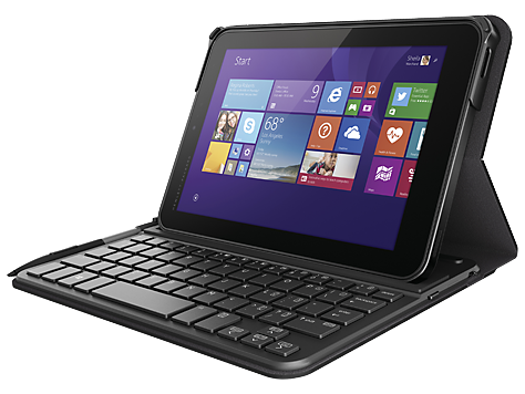 HP Pro Tablet 408 Bluetooth Keyboard Case