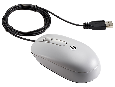 HP USB Grey Mouse