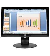 HP V203hz 19,45 inç LED Arkadan Aydınlatmalı Monitör