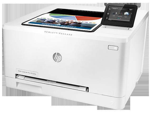 HP Color LaserJet Pro M252dw - Left