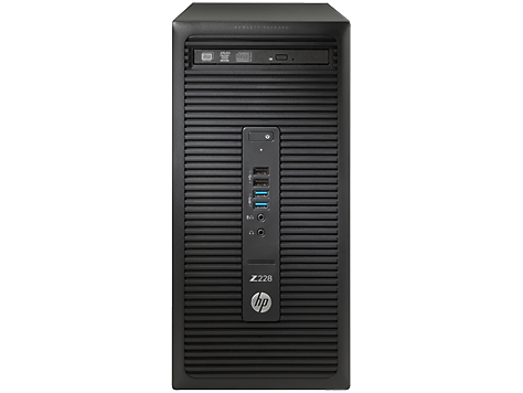 HP Z228 Microtower-Workstation