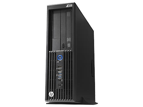 HP Z230 Small Form Factor, arbetsstation