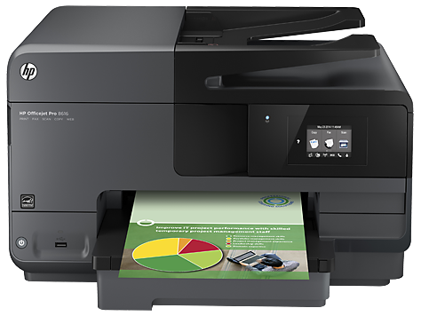Impressora e-All-in-One HP Officejet 8610