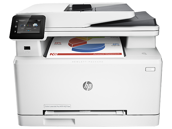 HP Color LaserJet Pro MFP M277dw - Center