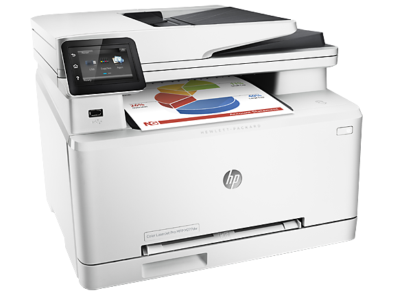 HP Color LaserJet Pro MFP M277dw - Right