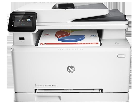 HP Color LaserJet Pro MFP M277c6 - Center